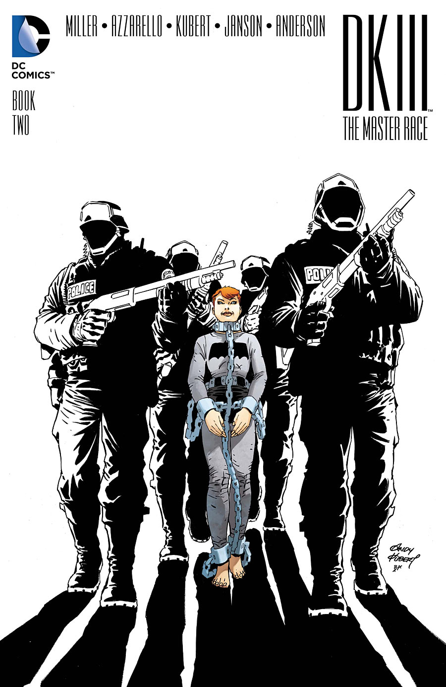 DKIII The Master Race #2 cover