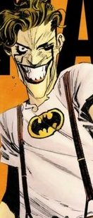 Joker in Batman shirt